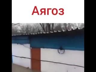 Потоп в Аягоз 2018