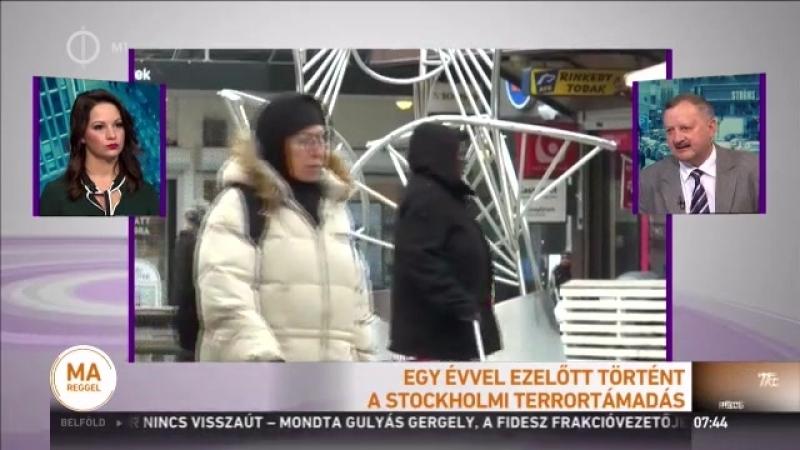 Szakértő a svéd társadalom már nem annyira befogadó