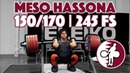 Meso Hassona Part 1/3 2017 WWC Training 245kg Front Squat 150/170 [4k60]