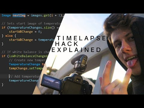 Coding a Timelapse Plugin for Photoshop | Image Processing Hack