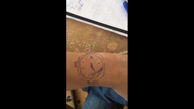 Типичные часы студента by Vlad Volkov and Sergio Lagoda