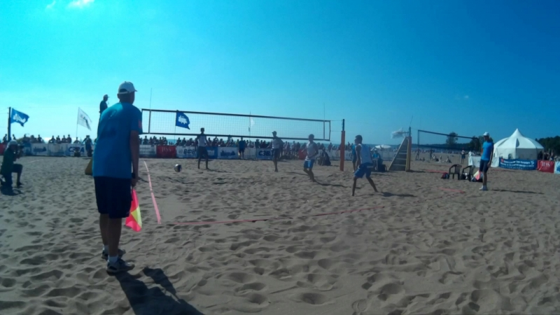 Beach volley Russia Solnechnoe 2018 M 16 Final Bogatov-Rakusov and Semenov-Leshukov