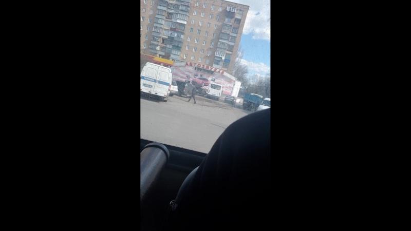 Авария на Сумской (Курск)