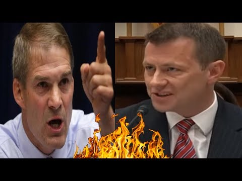 EXPLODE! Jim Jordan DOESN'T GIVE Peter Strozk Any AIR To BREATH Over Russia Probe Dossier At Hearing