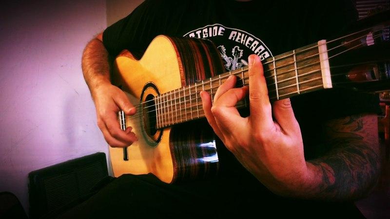 Barcelona Nights (Ottmar Liebert) Solo Flamenco Guitar - Ben Woods