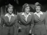 1942 Andrews Sisters - Dont Sit Under the Apple Tree