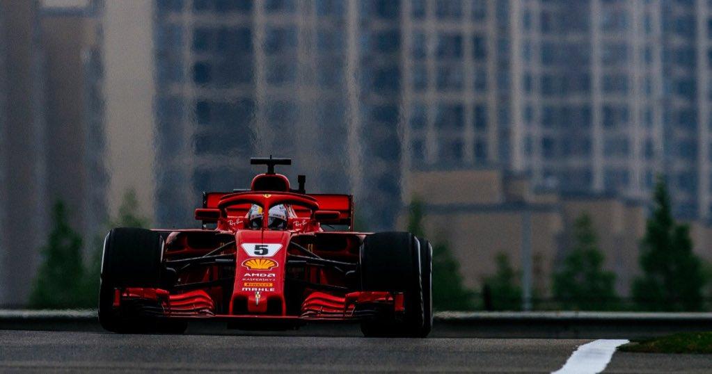 Себастьян Феттель - лидер чемпионата мира по Формуле-1 после трёх гран-при сезона-2018