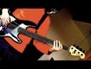Fred Frizz Scarified RacerX Cover on fretless bass