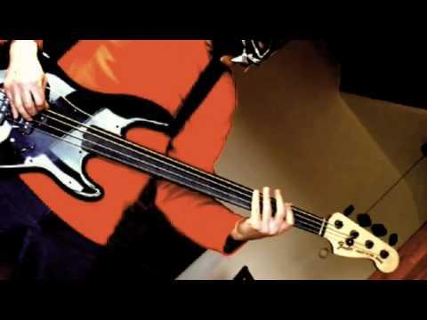 Fred Frizz Scarified [RacerX Cover] on fretless bass