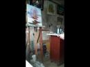 Создание картины Кусок рабочего момента 20 минут у станка