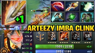 Arteezy Clinkz Super High Damages Rat Throne with 2 SEARING ARROWS Dota 2 7.18