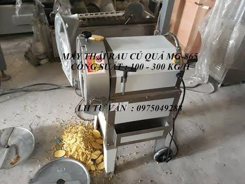 MÁY THÁI RAU CỦ QUẢ | máy thái rau củ quả đa năng MG865 100 - 300 kgh