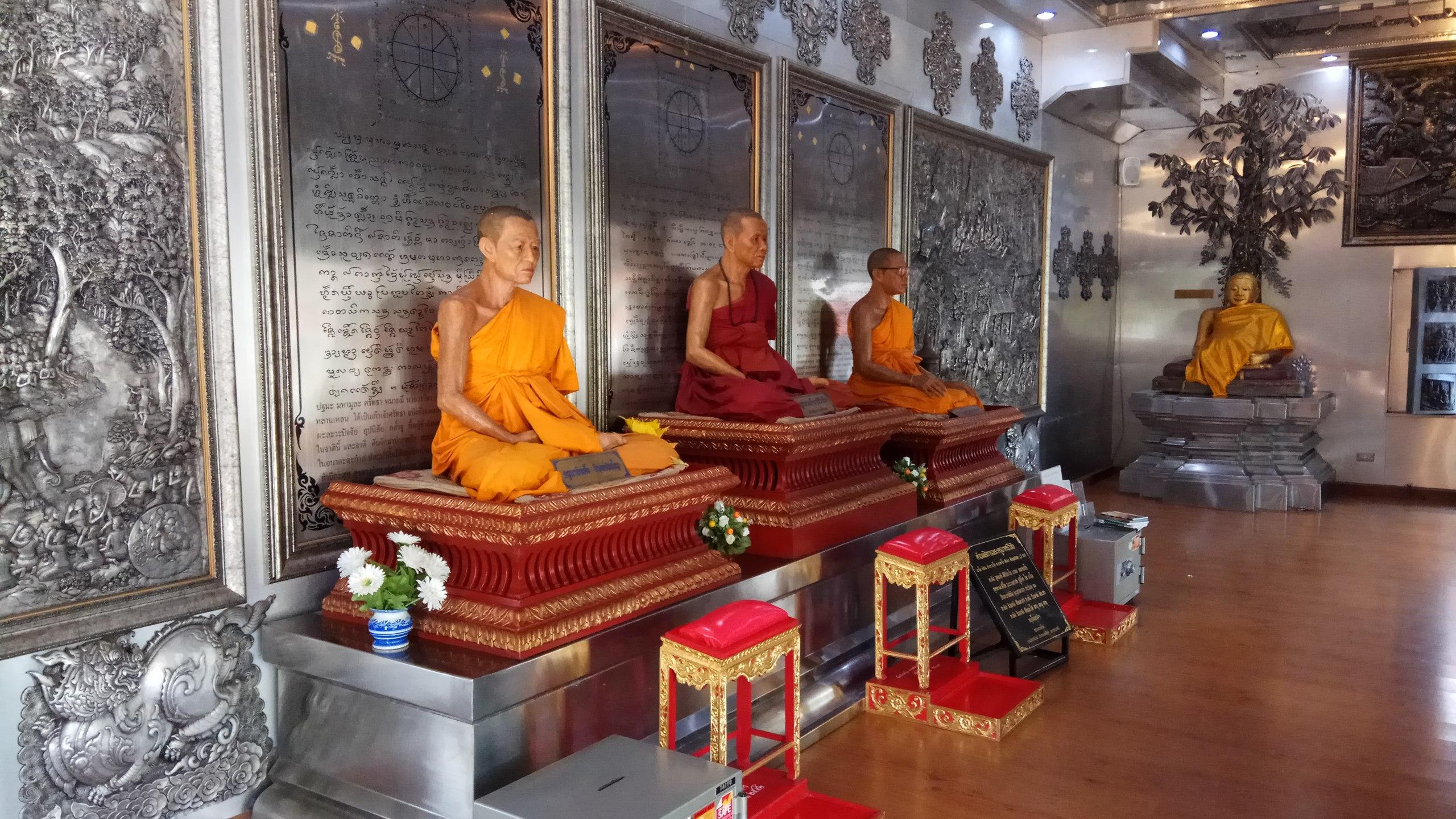чианг май таиланд серебряный храм