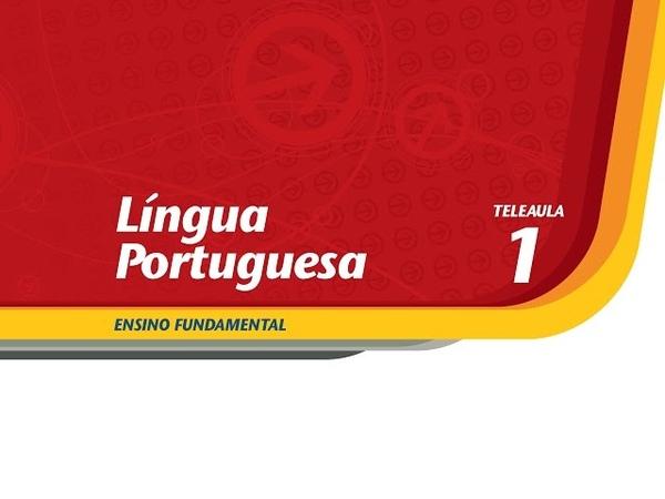 01 - Situações de comunicação - Língua Portuguesa - Ens. Fund. - Telecurso