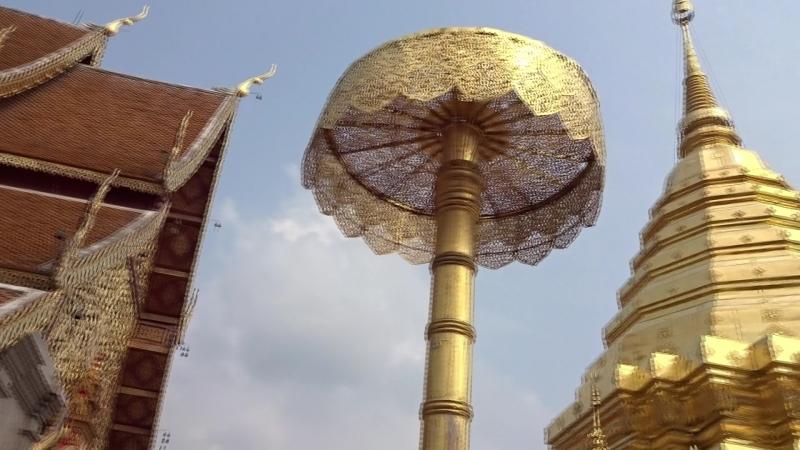 Таиланд г. Чанг–Май Храм Ват Прахат Дой Сутхеп (1)