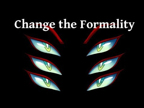 [Reupload] Change the formality Animation meme Gore and flashing colors warning