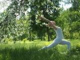 Йога в парке 30 лет ВЛКСМ