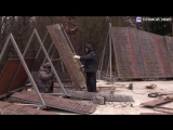 Монтаж памятника жертвам катастрофы рейса 9268 над Синаем. Прямая трансляция