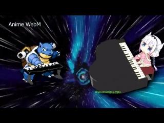 anime.webm Pokemon, Kobayashi-san Chi no Maid Dragon