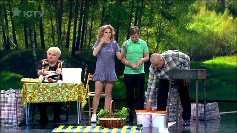 Случай на пикнике Веганы и ЗОЖники на шашлыках майские приколы Дизель шоу 2