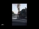 В районе хутора Молькино Краснодарского края сгорел Урал 63095 Тайфун-У