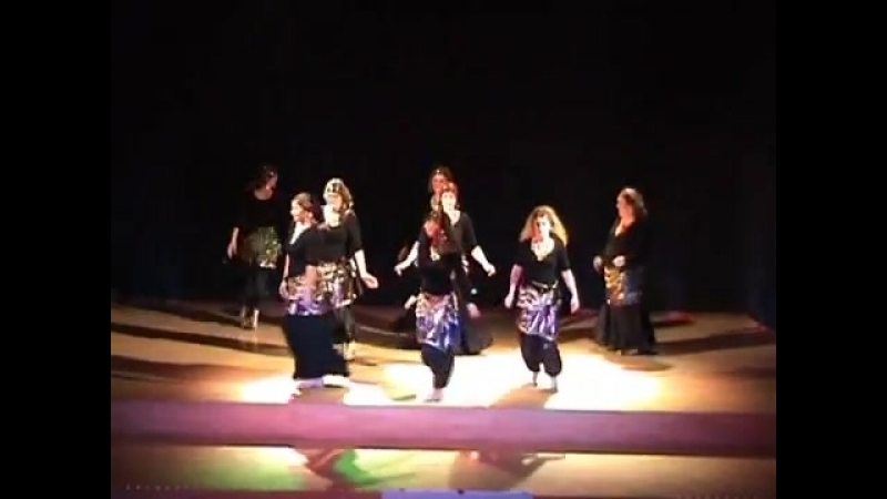 AnnA Visser and dancestudents 2011, groupperformance and solodance by AnnA 21072