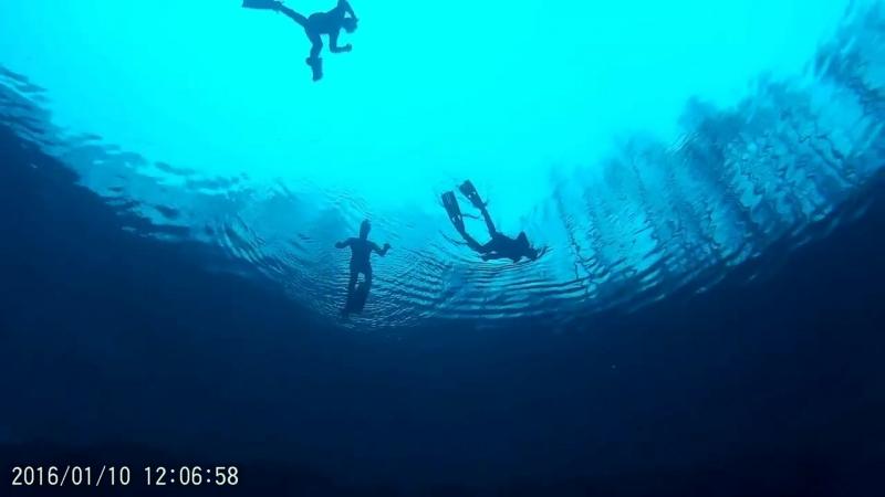 Голубое озеро. Прозрак 18 м. Мечта подводного охотника