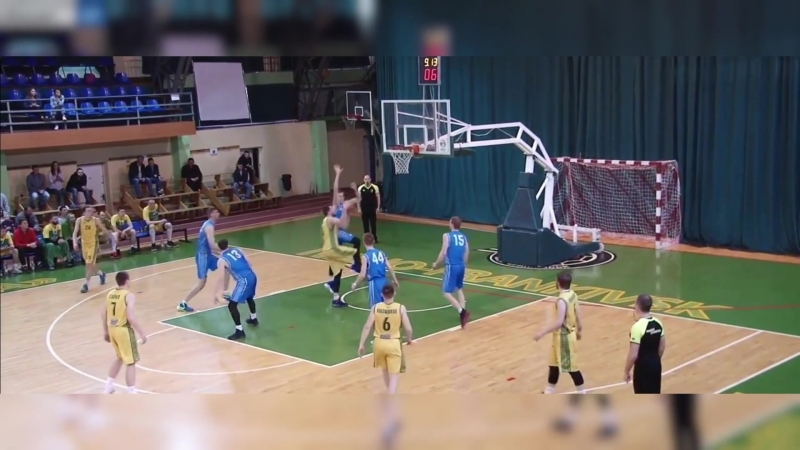 Говерла - Нико Баскет (Украина, момент, данк)