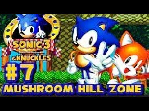 Sonic 3 Knuckles HD part 7 ► Mushroom Hill