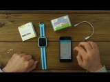 Часы Smart Baby Watch Q90 обзор и настройка www.chassofon.ru