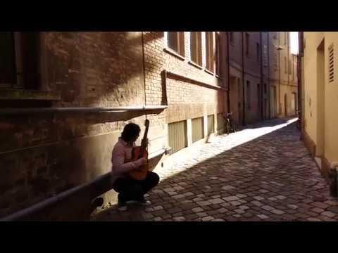 Владимир Гапонцев - Н. Паганини. Соната ми минор   Paganini. Sonata op. 3 №6. Vladimir Gapontsev