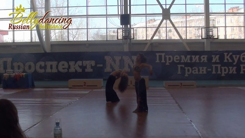 Сабина Гаджибабаева и Лилия Примак. Чемпионат ПФО oriental, Н. Новгород