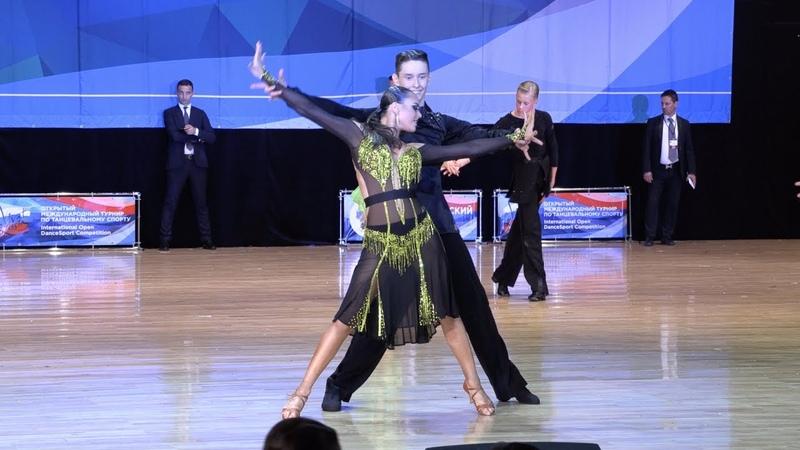 Сидоров Роман - Кононова Виктория, Rumba   Юниоры 21 Латиноамериканская программа