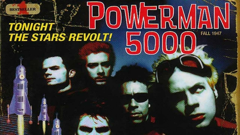 19 лет альбому Tonight the Stars Revolt Powerman 5000 PMTV Channel