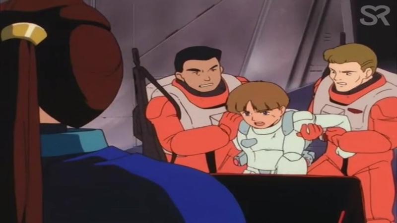 [озвучка   25] Мобильный Доспех Гандам Виктория   Mobile Suit Victory Gundam   25 серия   Озвучка BaSiLL   SR