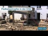 Unwetter  Haus muss nach heftigem Gewitter evakuiert werden, Überschwemmungen in Eifel