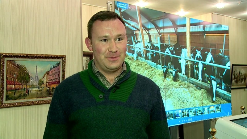 Андрей Симонов на конференции Продуктивное долголетие коров 5.0