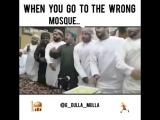 Когда ты зашёл в неправильную мечеть
