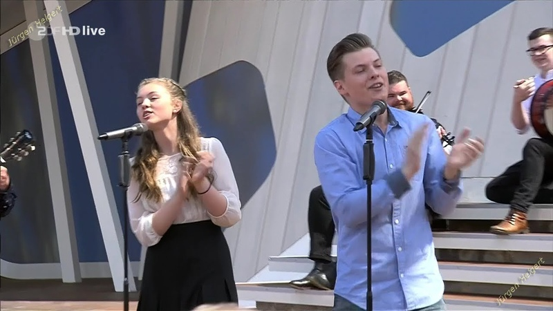 Angelo Kelly and Family Irish Heart...YEAH! GREAT!! ZDF Fernsehgarten 03.06.2018