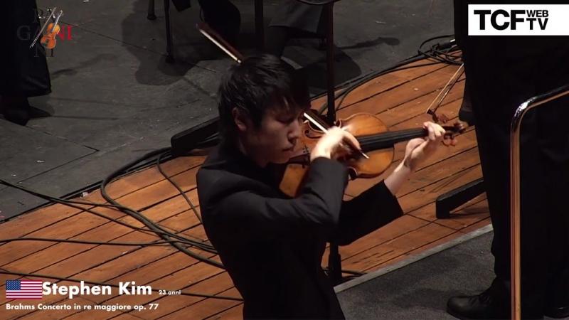 55-й Конкурс скрипачей имени Паганини. Финал: Stephen Kim - J. Brahms ''Concerto in re maggiore op. 77'' (Генуя, 2018)