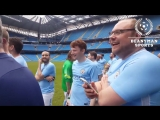 RT BeanymanSports Pep Guardiola makes surprise appearance in Manchester City staff game
