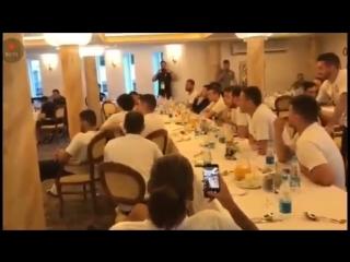 The Serbian national team | vk.com/uefa_fans