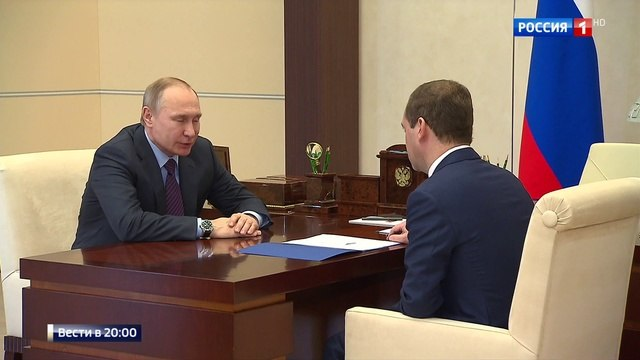 Вести 20 00 • Премьер представил президенту тезисы доклада Госдуме