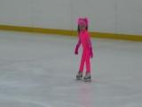 Павлова Анастасия - показательный номер на льду под названием