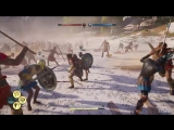 Assassins Creed Odyssey Conquest Battle Gameplay - 150 v 150 (Exclusive E3 2018 Hands On)