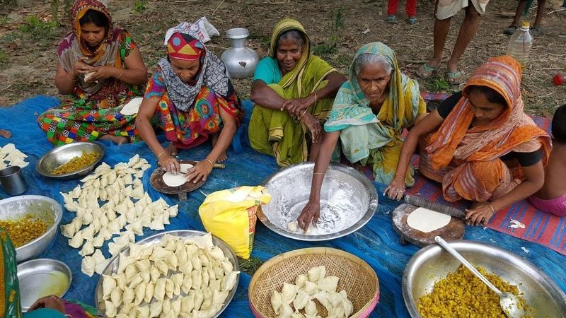 Potato Samosa Aloo Singara Most Popular Tasty Snacks Of Bengali Village Peoples