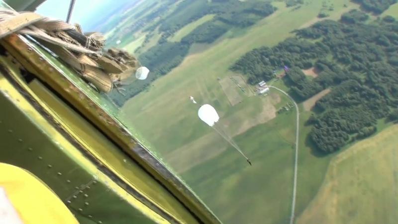 05.08.2018. Логиново. Прыжок с парашютом.