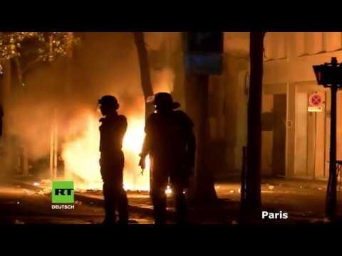 Frankreich: Gewaltsame Ausschreitungen nach WM-Sieg in Marseille und Paris