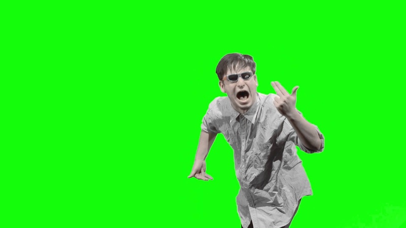 Filthy frank green screen