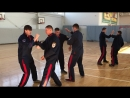 Упражнение из техники Русского Кулачного Боя Живот 1х1 с плотностью боя 3 удара в сек.